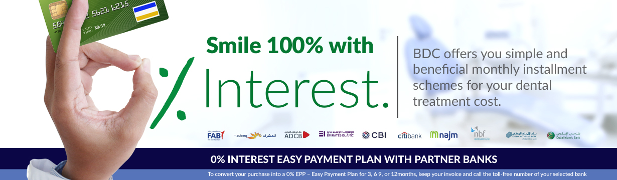 Smile  100% with Interest - Promotions
