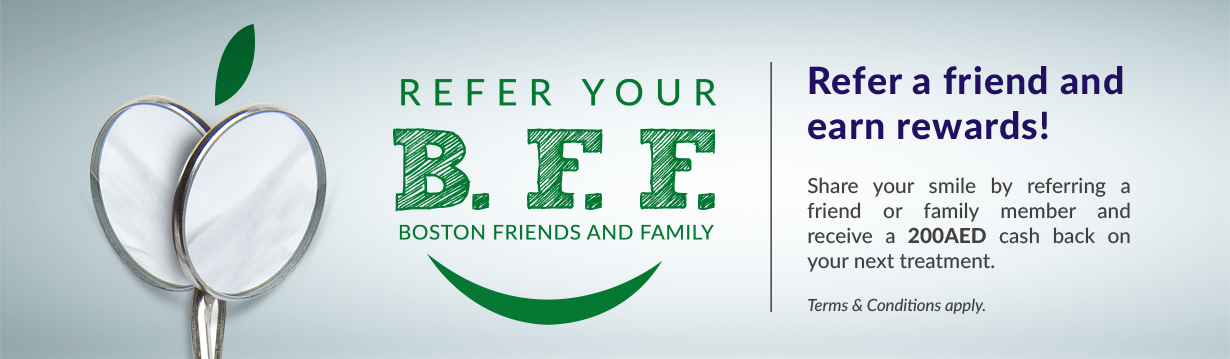 Refer your Boston friends and Family - Promotions